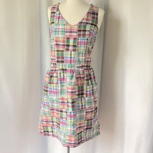 Preppy Madras Dress